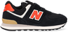 Zwarte NEW BALANCE Lage sneakers PV574  - small