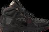 Zwarte RED-RAG Sneakers 15489  - small
