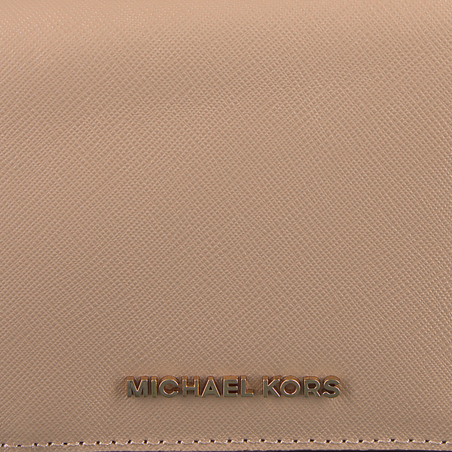 Beige MICHAEL KORS Portemonnee CARRYALL CARD CASE - large