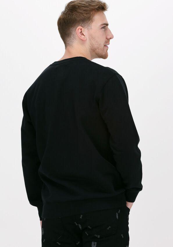 Zwarte EDWIN Sweater JAPANESE SUN SWEAT  - larger