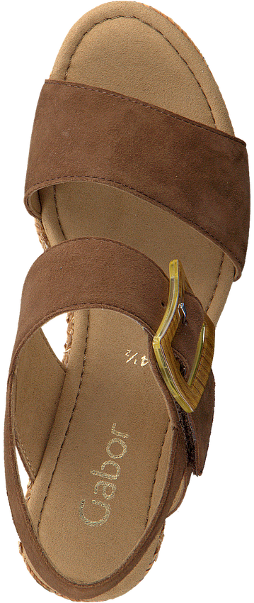 Bruine GABOR Sandalen 795.1  - larger