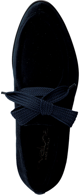 Blauwe EVALUNA Veterschoenen EL1820  - large