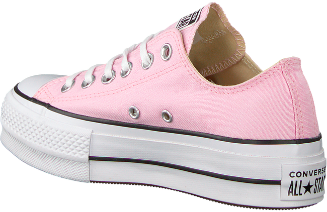 CONVERSE SNEAKERS CTAS LIFT OX CHERRY BLOSSOM/W - large