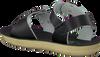 Zwarte SALT-WATER Sandalen SURFER  - small