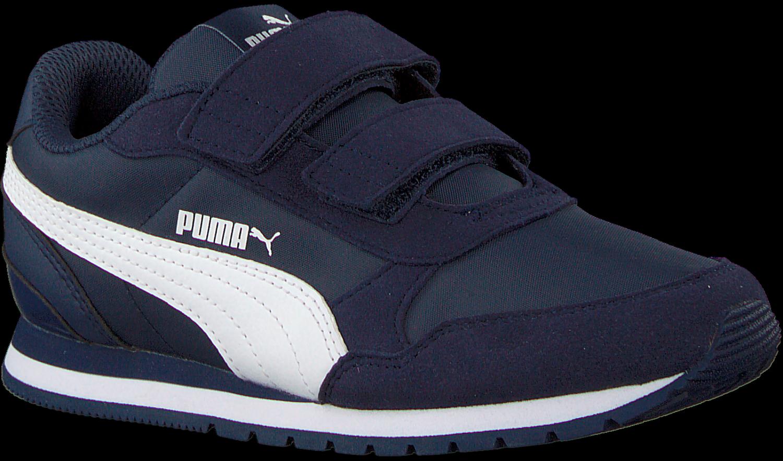 Blauwe PUMA Sneakers ST RUNNER V2 NL JR | Omoda