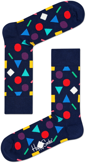 Blauwe HAPPY SOCKS Sokken PLAY - large