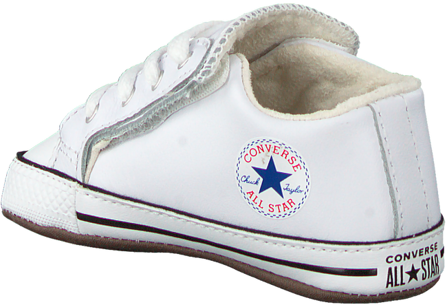 Witte CONVERSE Babyschoenen CHUCK TAYLOR  ALL STAR CRIBSTER - large