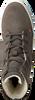 Grijze HUB Veterboots W4005L30-L04-759 CHESS - small