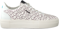 Witte FLORIS VAN BOMMEL Lage sneakers 85297  - medium