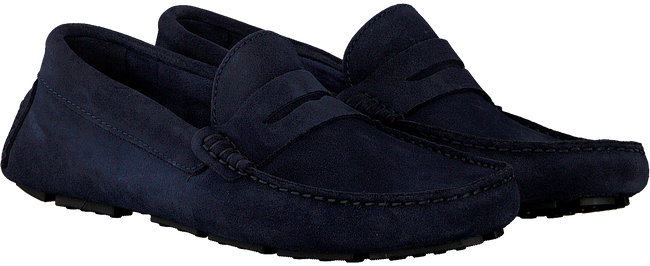 Blauwe MAZZELTOV. Loafers 32008  - large