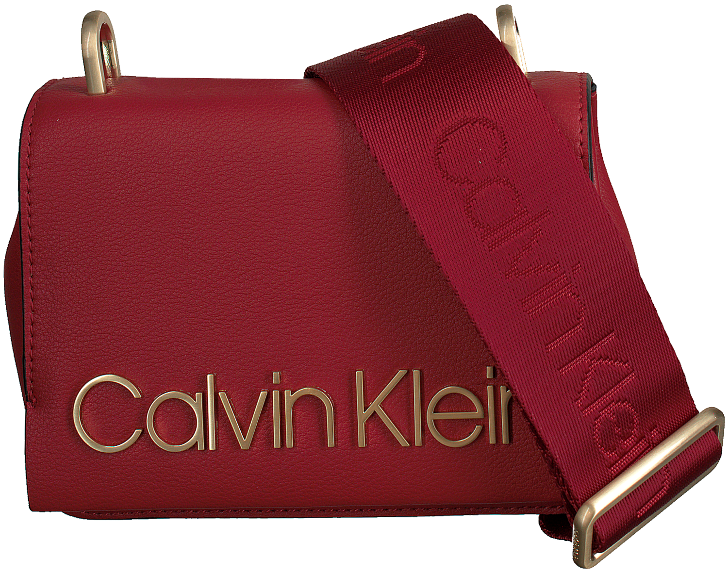 Rode CALVIN KLEIN Schoudertas CK CANDY SMALL CROSSBODY Omoda