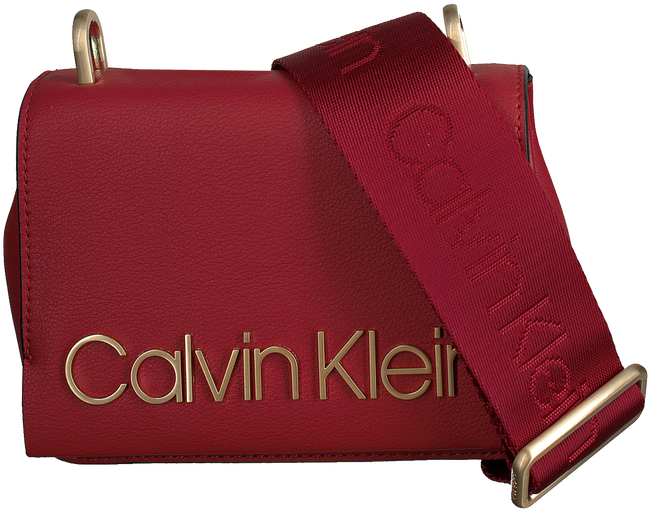 Rode CALVIN KLEIN Schoudertas CK CANDY SMALL CROSSBODY - large