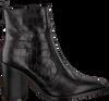 Zwarte NOTRE-V Enkellaarsjes AH22  - small