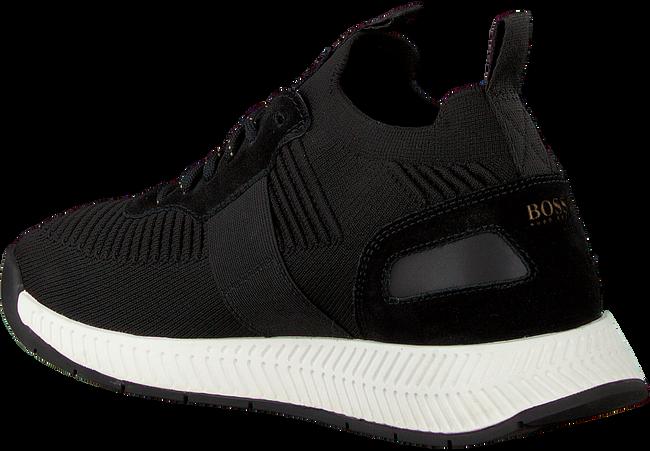 Zwarte BOSS Sneakers TITANIUM RUNN KNST - large
