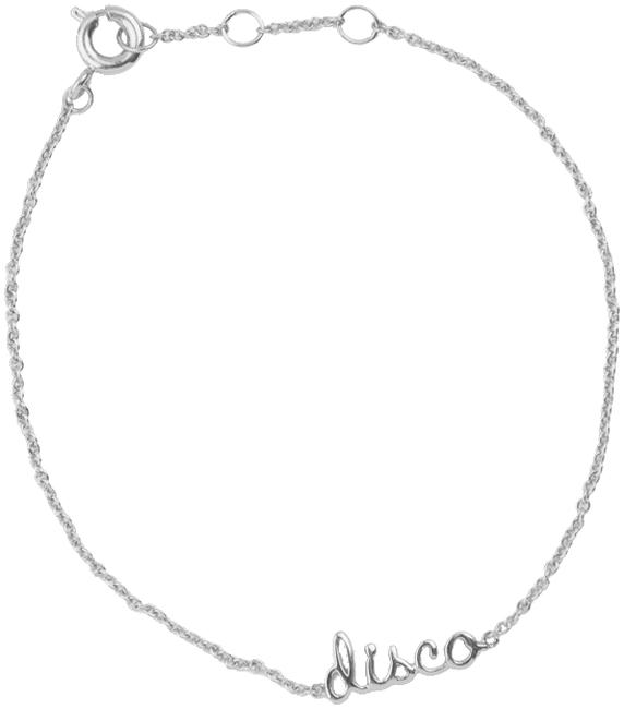 Zilveren ATLITW STUDIO Armband URBAN BRACELET DISCO - large