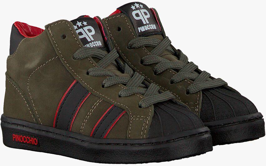 Groene PINOCCHIO Hoge sneaker P1896  - larger