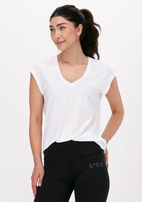 Gebroken wit CC HEART T-shirt BASIC V-NECK TSHIRT - large