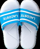 blauwe LACOSTE Slippers L.30 118 2 CAC  - medium