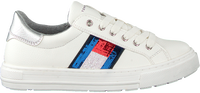 Witte TOMMY HILFIGER Lage sneakers LOW CUT LACE-UP LOW CUT LACE UP T3A4-30616 - medium