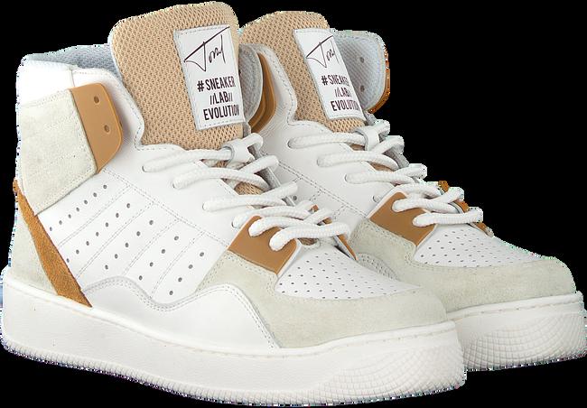 Witte TORAL Hoge sneaker 12406  - large