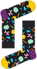 Zwarte HAPPY SOCKS Sokken BALLOON ANIMAL - small