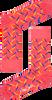 Roze HAPPY SOCKS Sokken FENCE - small