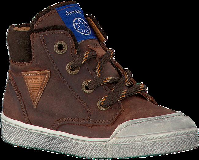 Cognac DEVELAB Sneakers 41545  - large