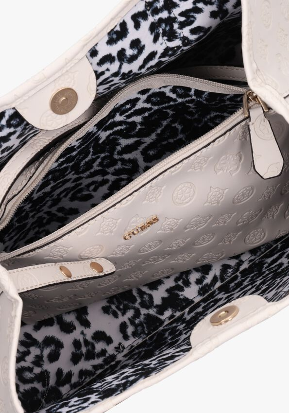 Beige GUESS Handtas VIKKY ROO TOTE  - larger