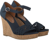 Blauwe TOMMY HILFIGER Espadrilles EDEL 5C  - small