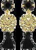 Zwarte JEWELLERY BY SOPHIE Oorbellen IBIZA EARRINGS - small