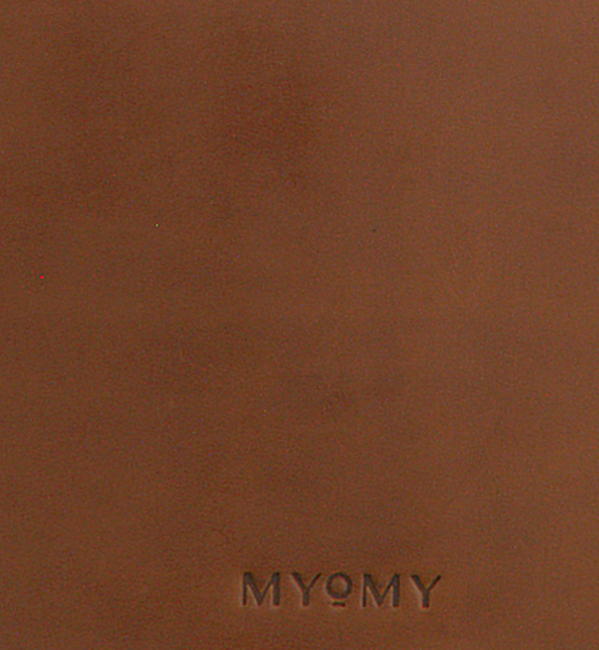 Cognac MYOMY Handtas MY LOCKER BAG HANDBAG - large