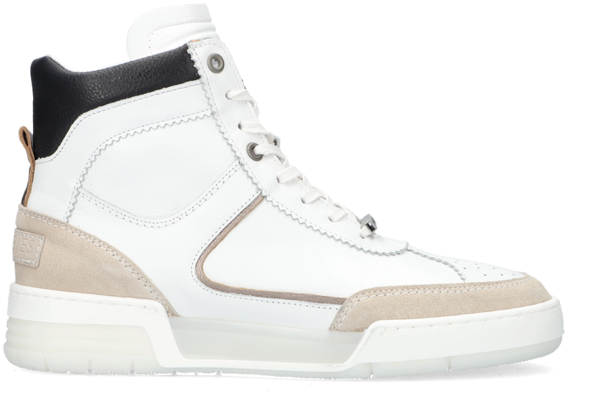 Witte SHABBIES Hoge sneakers 102020034 - larger