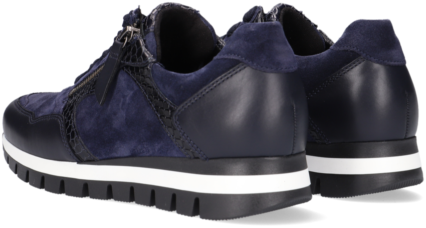 Blauwe GABOR Lage sneakers 438  - larger
