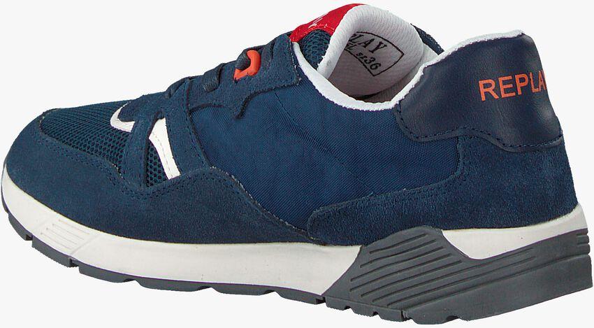 Blauwe REPLAY Sneakers MIAMI  - larger