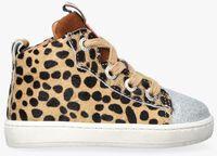 Beige DEVELAB Hoge sneaker 41604  - medium