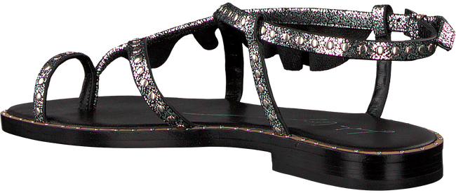 Zilveren LOLA CRUZ Sandalen 071Z15BK - large