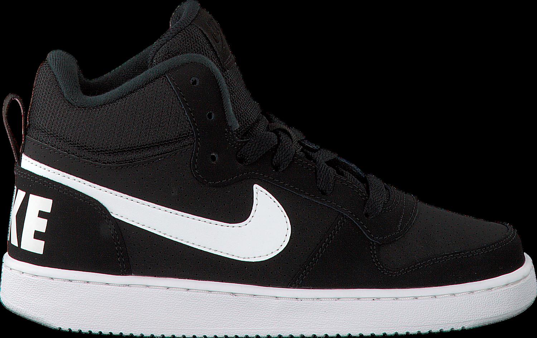 promo code 4897a 510e2 Zwarte NIKE Sneakers COURT BOROUGH MID (KIDS) - Omoda.nl