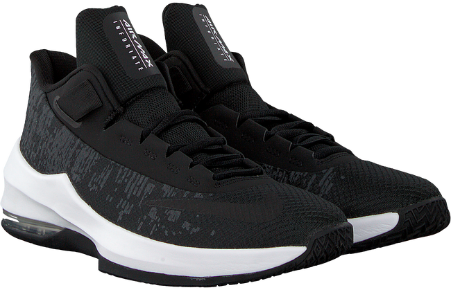 Zwarte NIKE Sneakers NIKE AIR MAX INFURIATE II GS - large