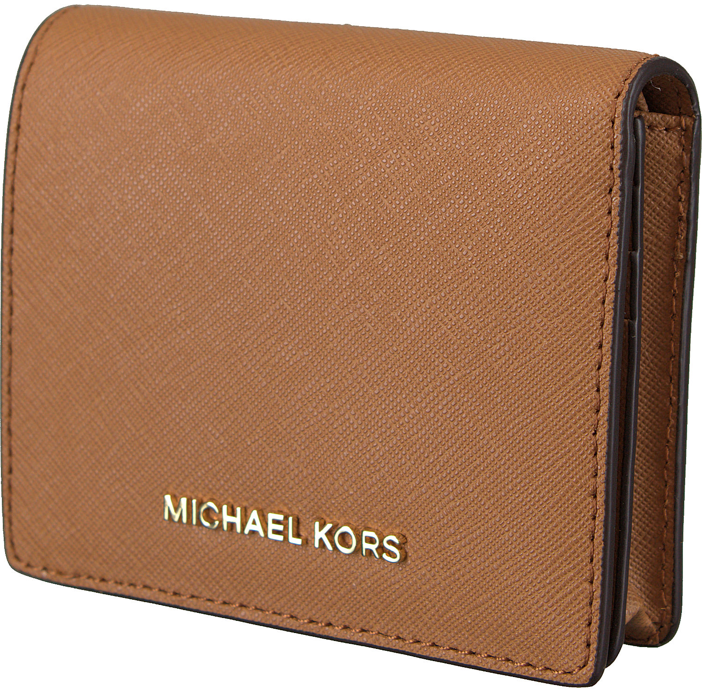 2a1fe0a93fd Cognac MICHAEL KORS Portemonnee FLAP CARD HOLDER - Omoda.nl