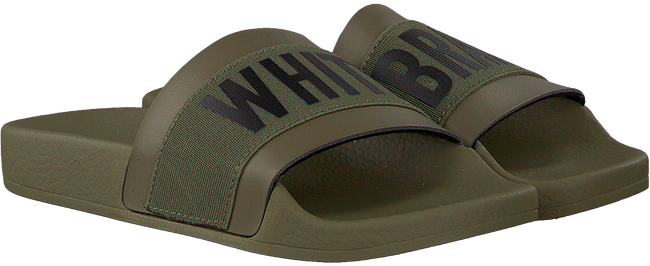 Groene THE WHITE BRAND Slippers ELASTIC MINIMAL KIDS - large