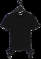 Zwarte ENVII T-shirt ENALLY STRING TEE 5314