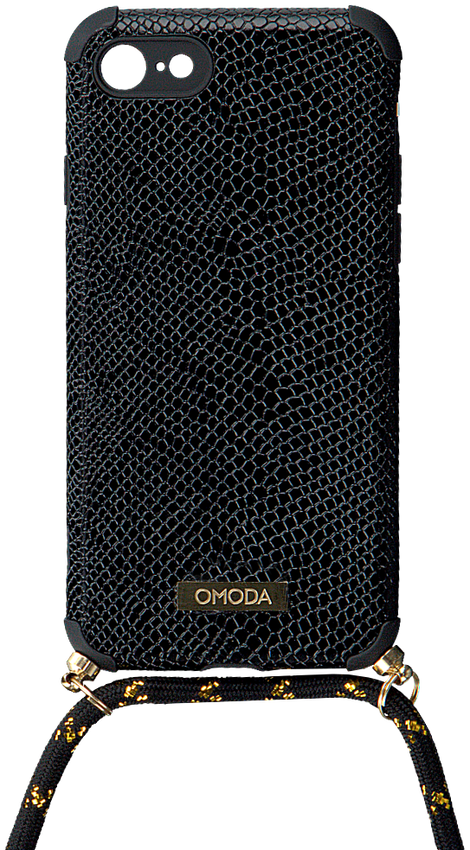 Zwarte OMODA Telefoonkoord 7/8 IPHONE KOORD  - larger