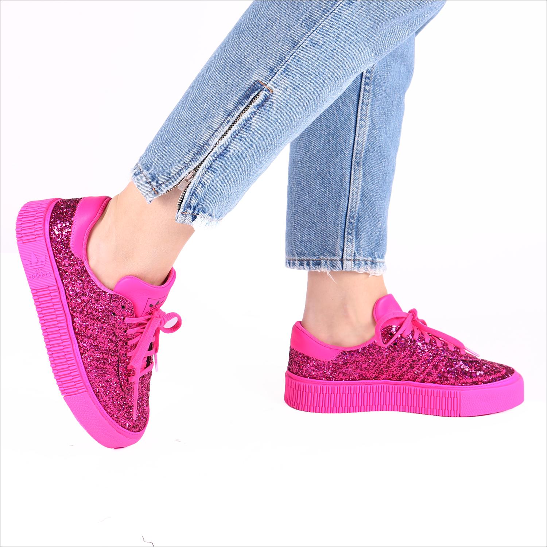 san francisco 73611 4c9e6 Roze ADIDAS Sneakers SAMBAROSE WMN