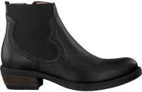 Zwarte UNISA Chelseaboots WAFI  - medium