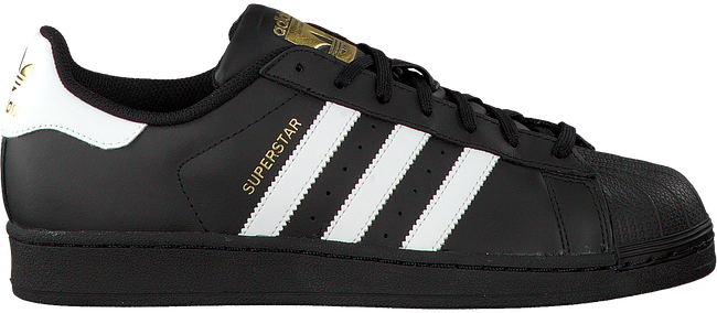 aea17dd6e27 Zwarte ADIDAS Sneakers SUPERSTAR HEREN - Omoda.nl