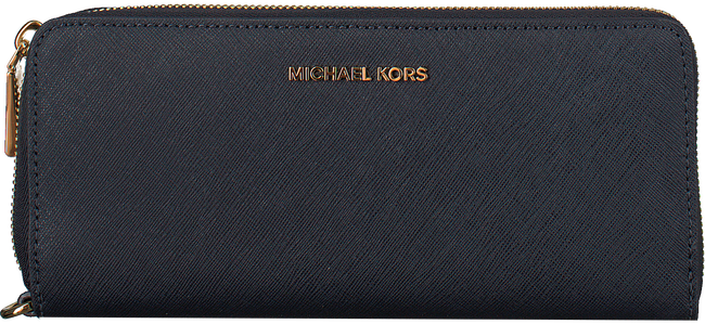 Blauwe MICHAEL KORS Portemonnee TRAVEL CONTINENTAL - large