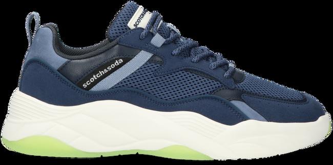 Blauwe SCOTCH & SODA Lage sneakers CASSIUS  - large