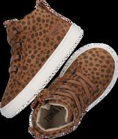 Bruine TON & TON Hoge sneaker LAILA  - medium