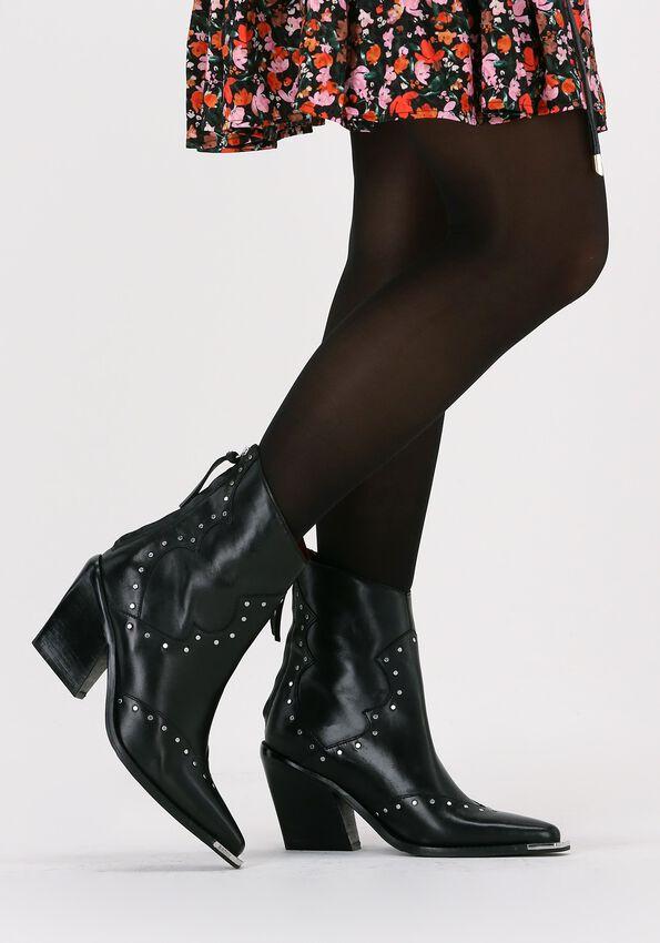 Zwarte BRONX Enkellaarsjes NEW KOLE 34184  - larger