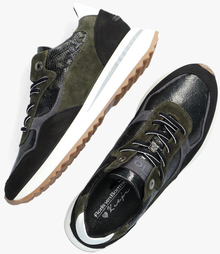 Groene FLORIS VAN BOMMEL Lage sneakers 85351  - larger